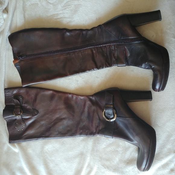 Lavorazione Artigiana leather boots brown Size 8